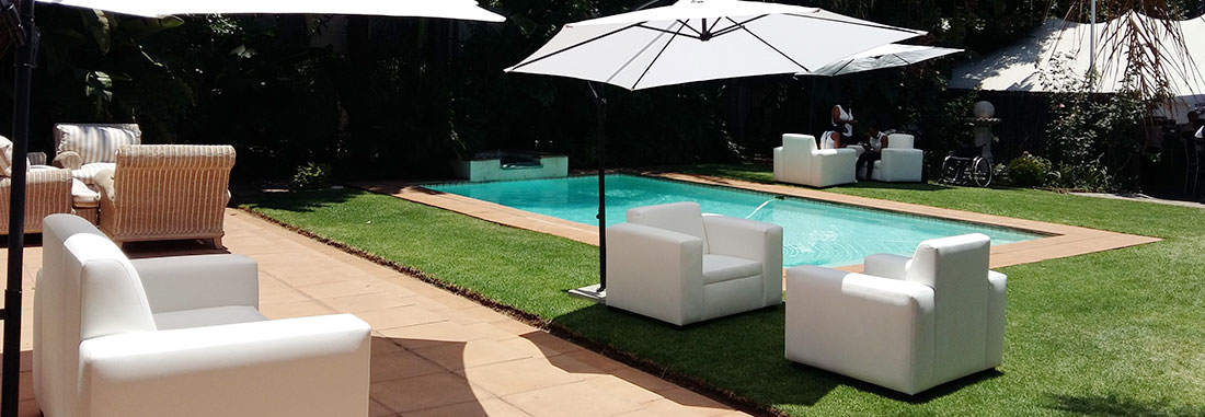 Lounges, Pools and Patios
